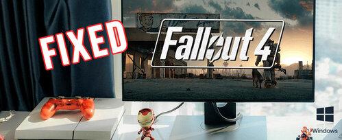 Fallout 4 crash fix mod