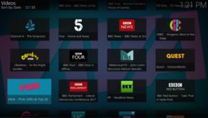 XBMC TVCatchup Kodi Add-on