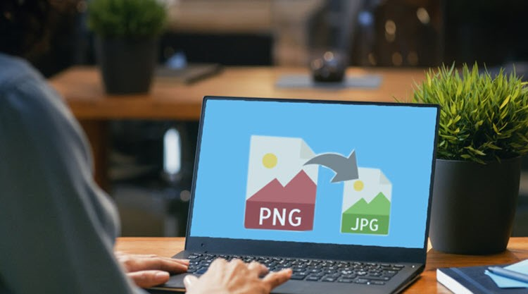 PNG Image file and its conversion to JPG